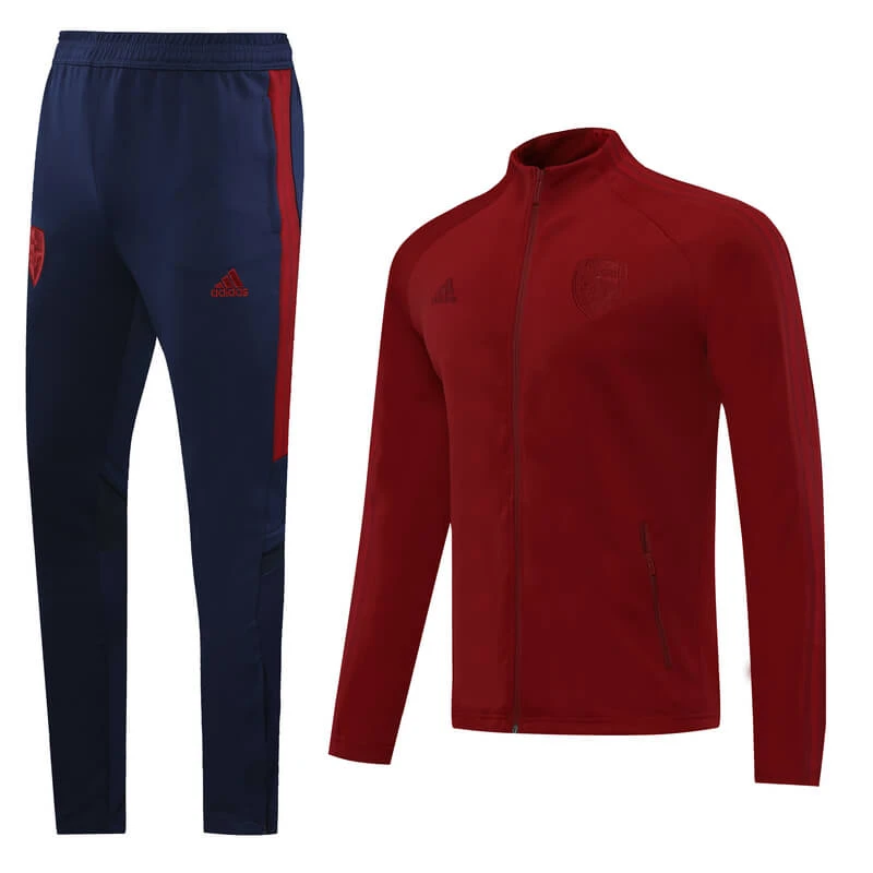 Arsenal 20/21 Dark Red(knitting) Men Jacket Tracksuit Slim
