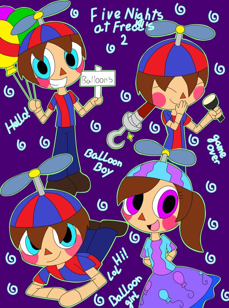 Balloon Boy By Animalcomic96 On Deviantart Five Nights At Freddy S Dibujos De Animatronicos Fnaf