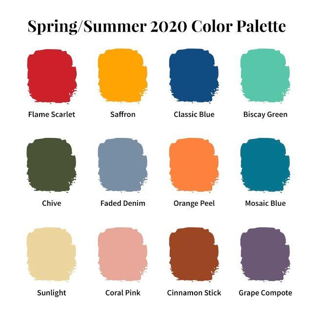 12 Sensational Color Trends of Spring & Summer 2020 –