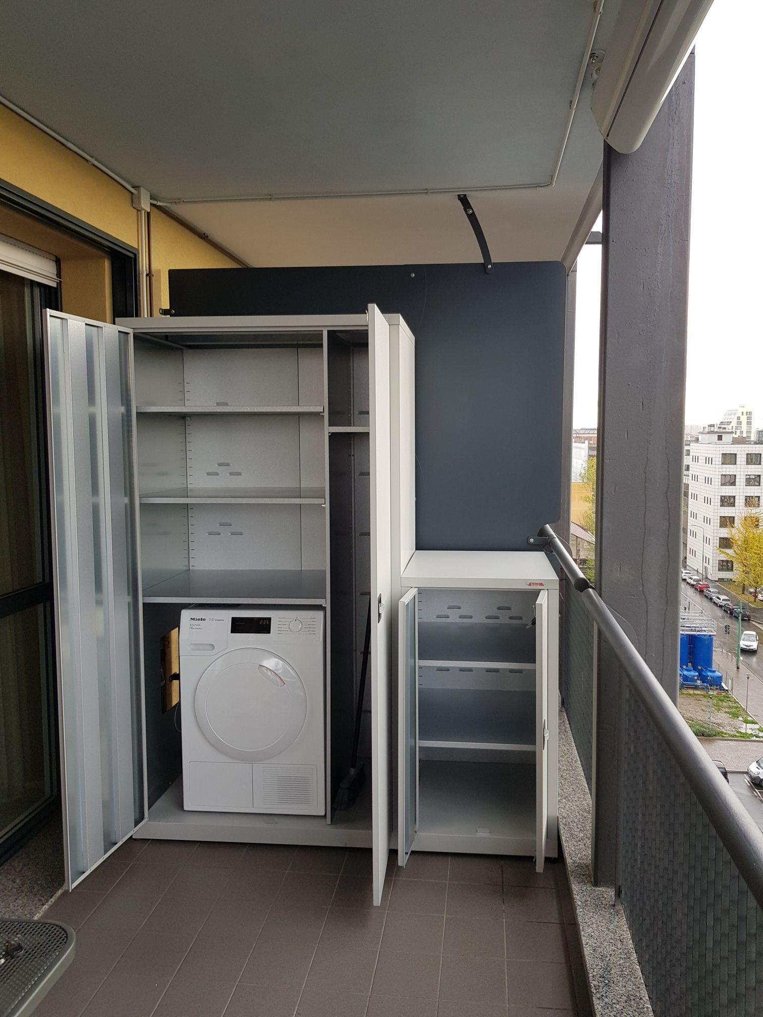 Mobile Per Asciugatrice Esterno combinazione di armadi metallici da esterno realizzati per