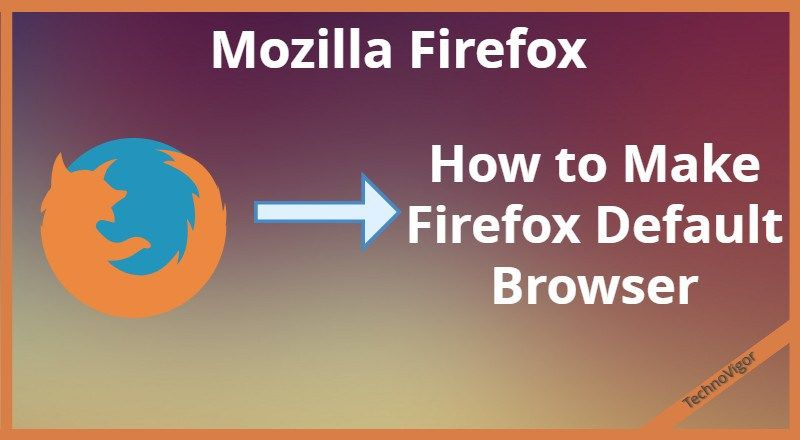 If your default browser is Google Chrome but you want to