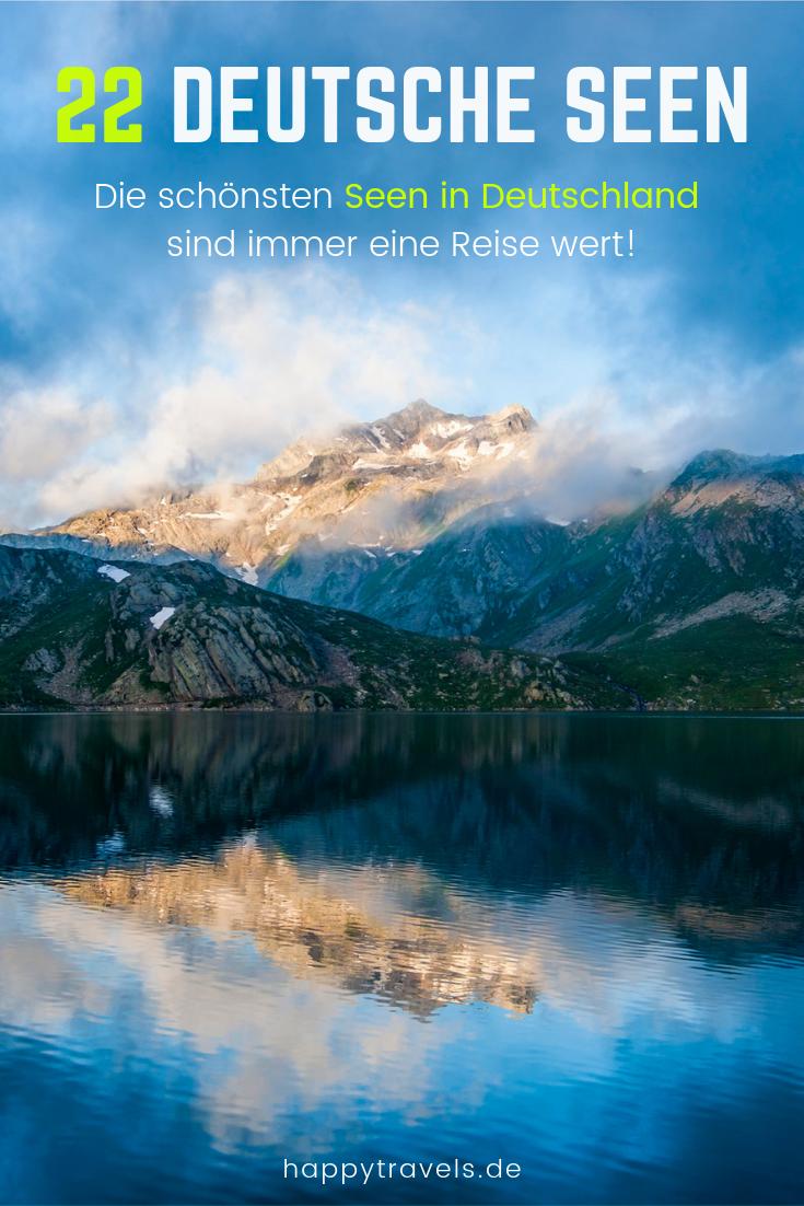 22 Schöne Seen in Deutschland die Du unbedingt besuchen solltest