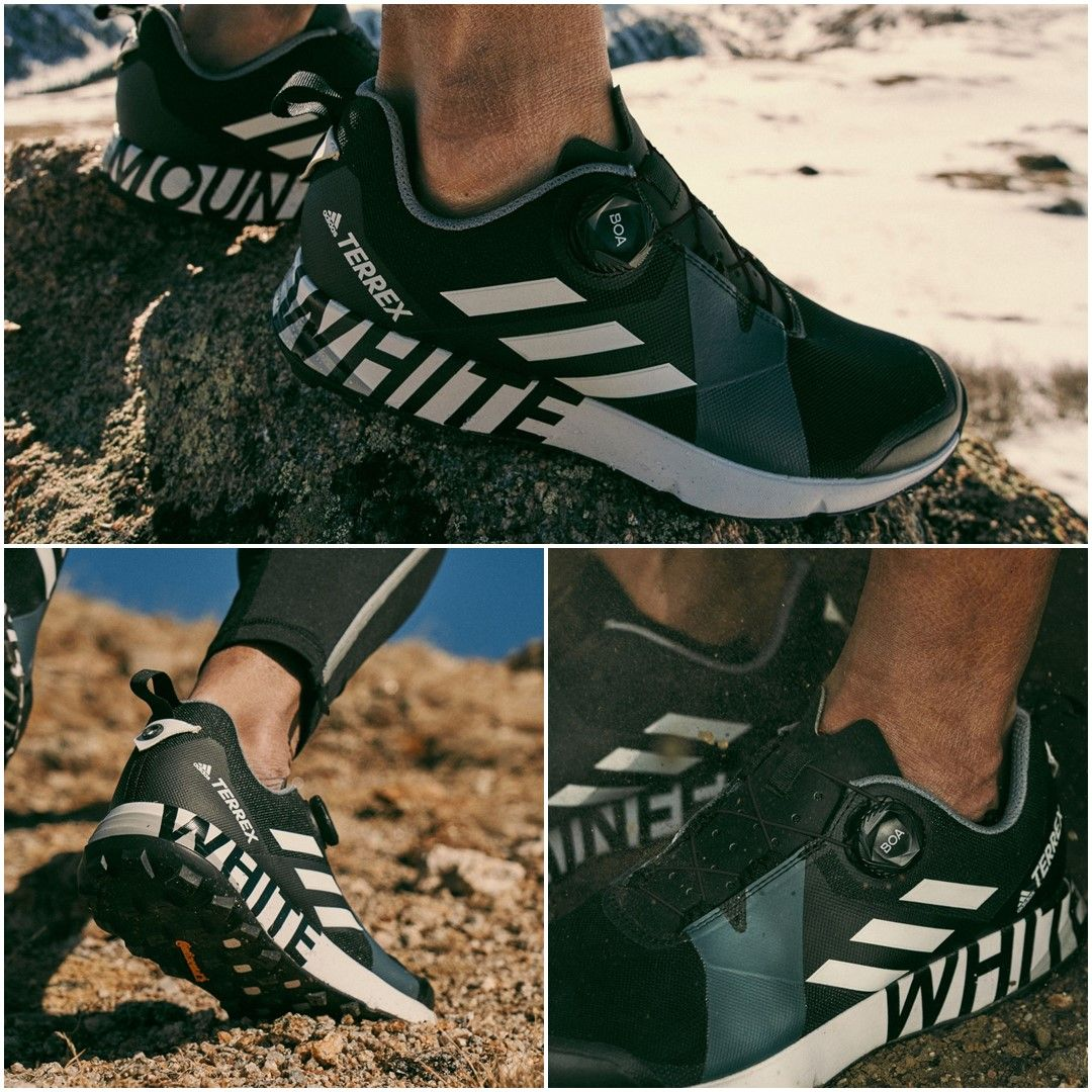 Capilla Oculto Murciélago  White Mountaineering x adidas Terrex Two Boa Black | BB7743 - Retro Shoes |  Retro shoes, Sneakers, Black