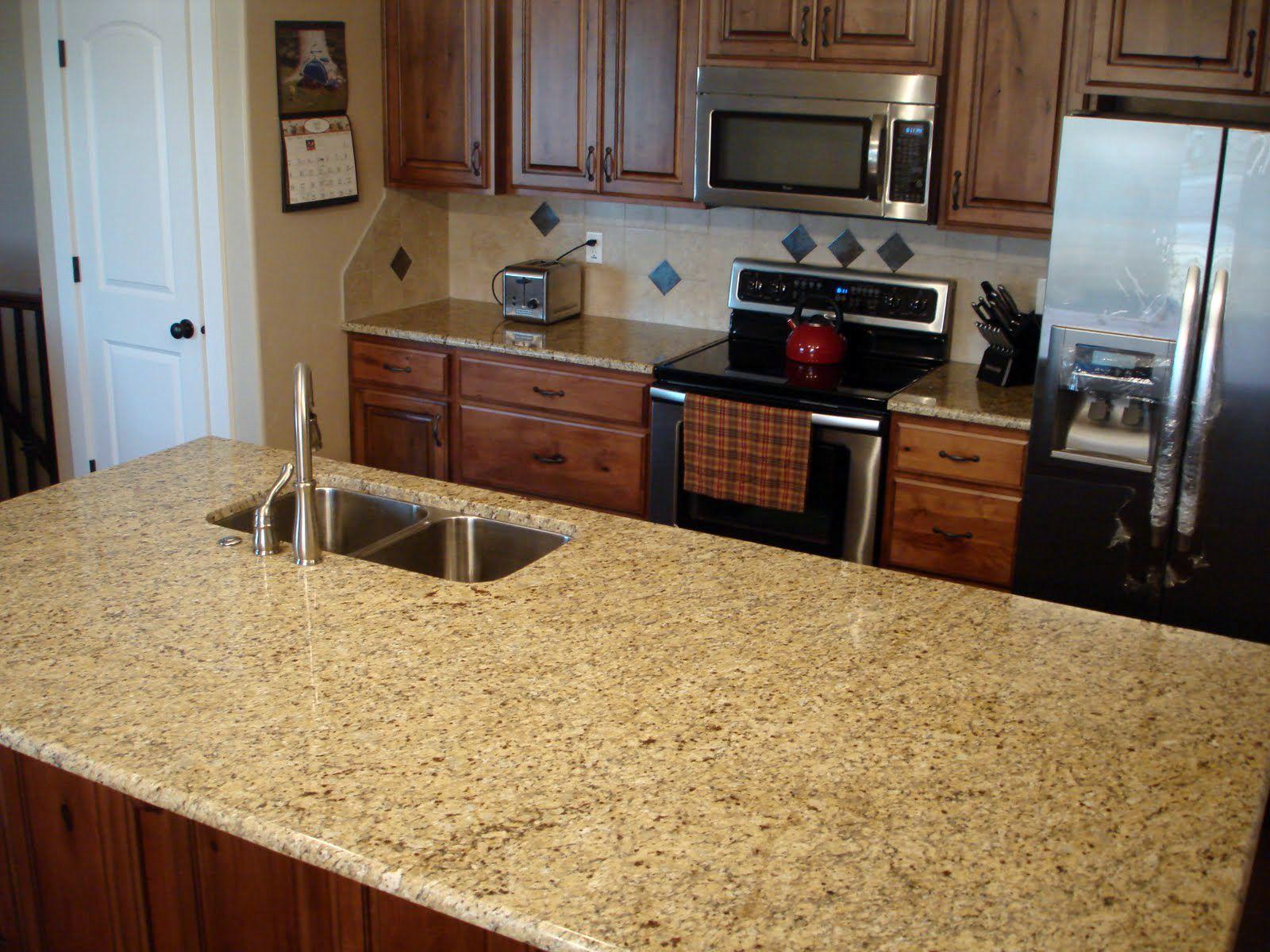Giallo Ornamental Granite Kitchen Countertop The Granite