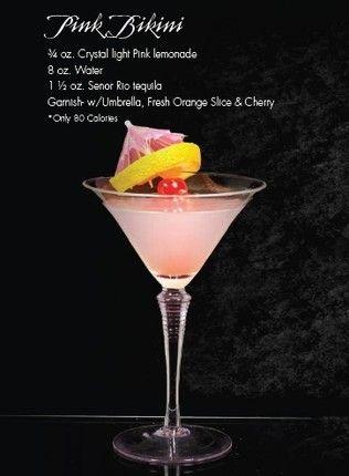 80 Pink DrinksFun Bikini Low Caloriesamp; SugarDrinks Yummy QBsCthdxro