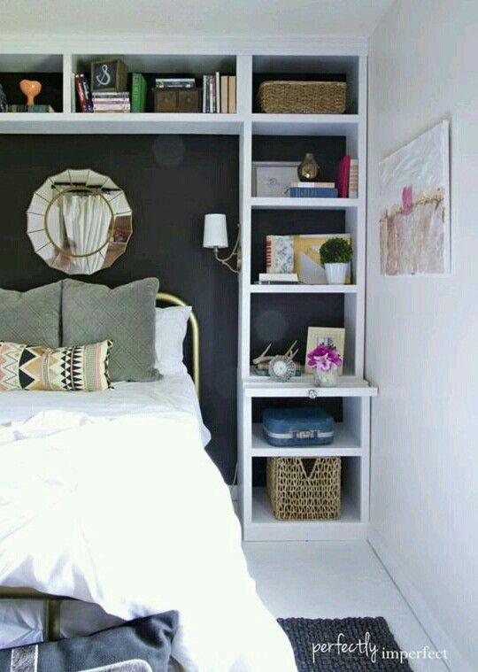 Pin von Emily Schirmer auf shelving   Pinterest   Gästezimmer