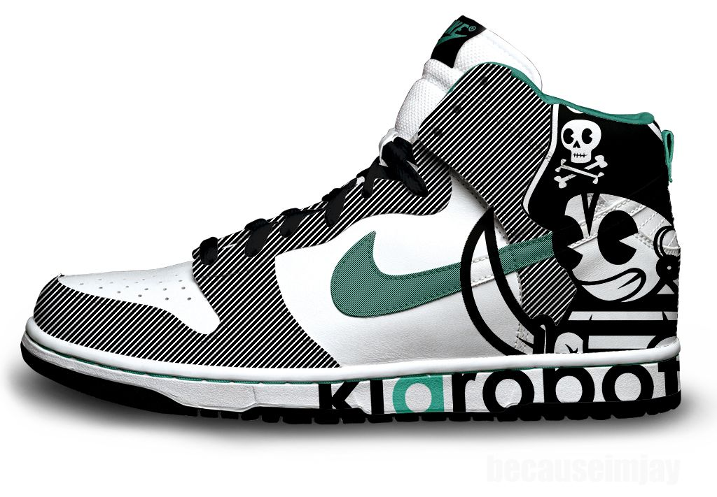 Nike Skate Pirate ShoesKidrobot Sb Dunks Dunk dCorxBe