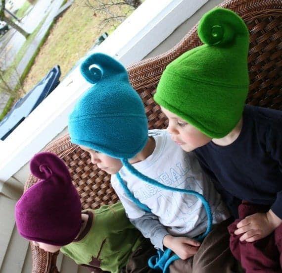 Curly Gnome Hat | Nähideen, Geschenk und Nähen