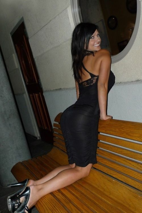 Wife In Tight Dress