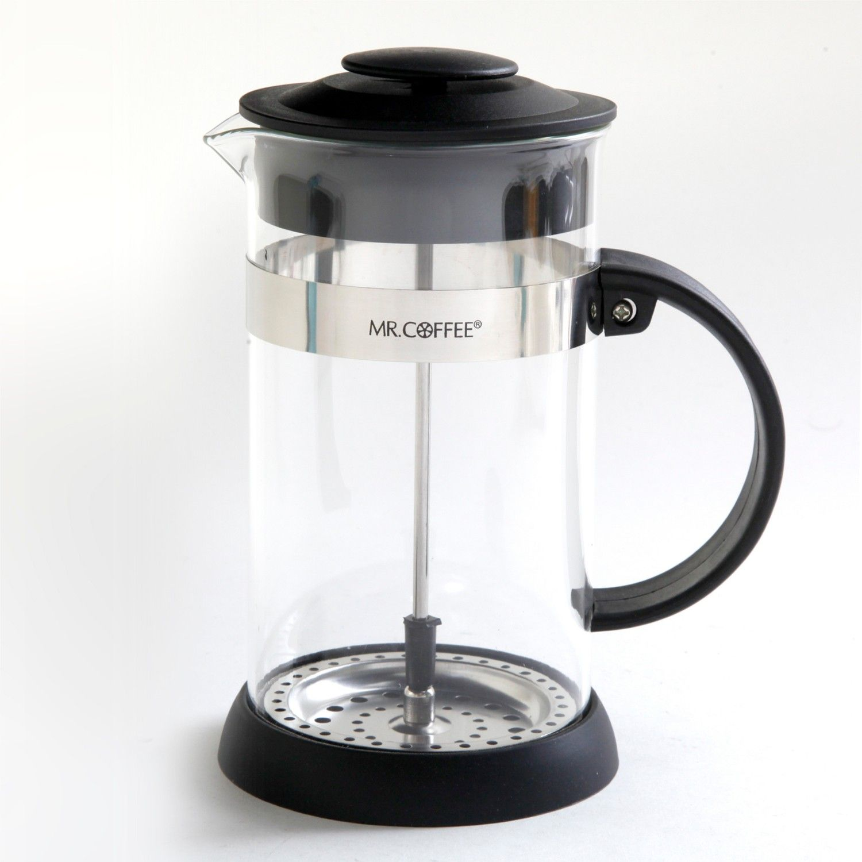 Mr. Coffee Cafe Oasis 1.1QT (32oz) Coffee Press Coffee