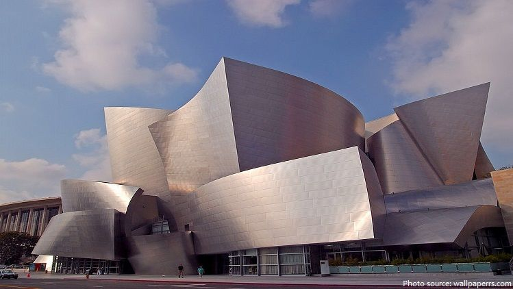 Interesting Facts About Walt Disney Concert Hall Just Fun Facts Walt Disney Concert Hall Concert Hall Space Architecture