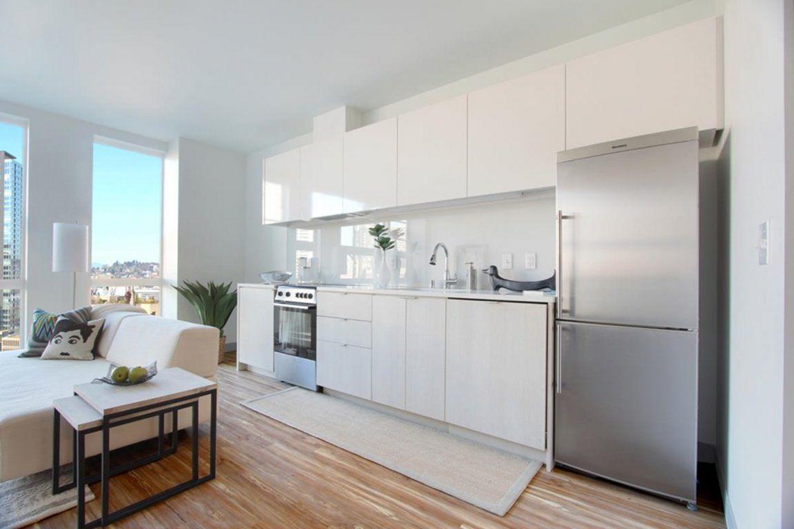 35 Outstanding Small Kitchen Studio Designs For Comfort Dexorate Kitchen Decor Apartment Small Kitchen Design Apartment Small Apartment Kitchen