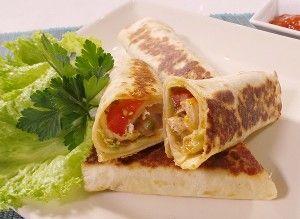 Resep Ayam Spicy Chicken Wrap Chicken Wraps Resep Ayam Resep Masakan