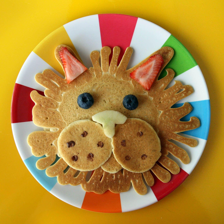 lion pancake inspired by cassie u0027s amazing pancake artwork all