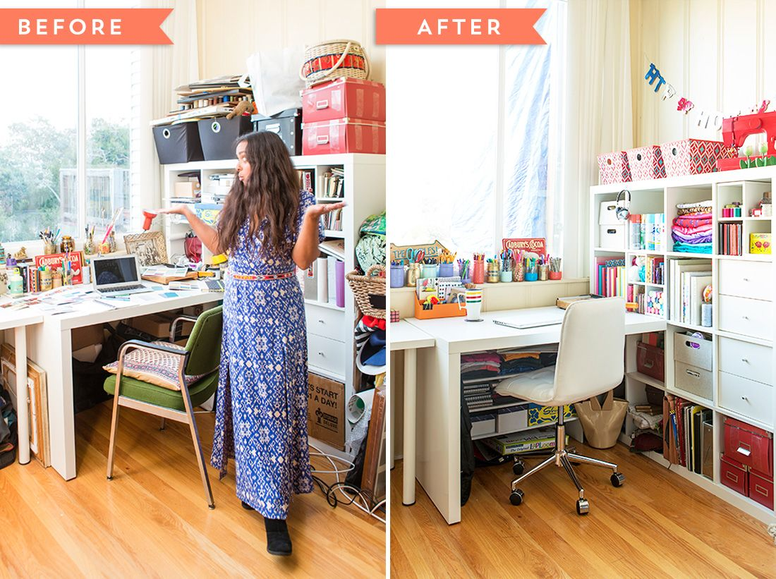 Decluttering Doesnt Have To Be A Big Hassle Jumpstart Your Organized Creative Space