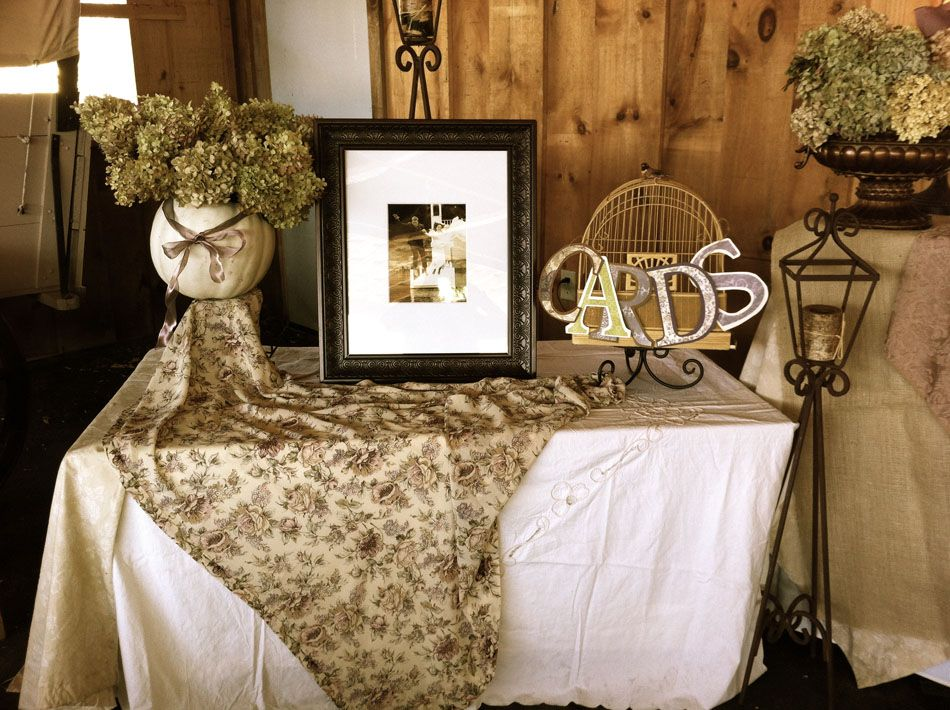 Barn wedding decorations and ideas this is one portion of our barn wedding decorations and ideas this is one portion of our entrance table we junglespirit Gallery