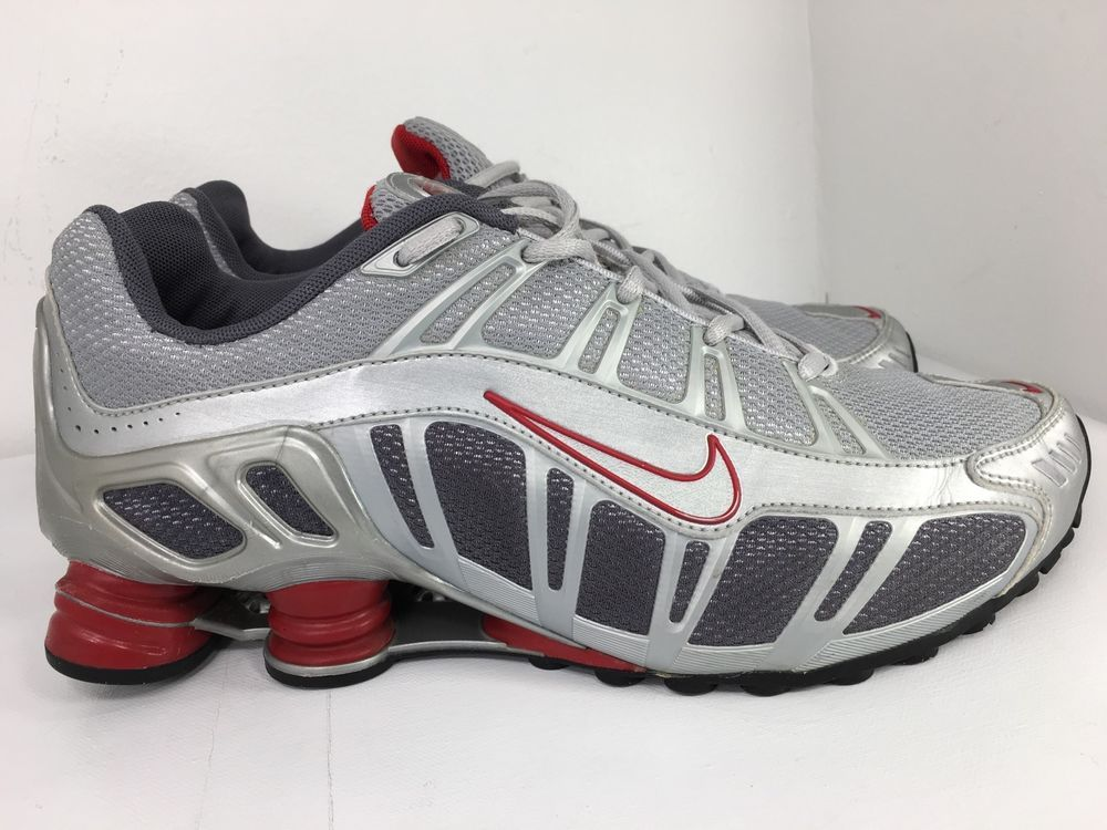 super popular 16832 6419d NIKE SHOX TURBO RUNNING SHOES MEN'S SIZE 10 GREY / SILVER ...