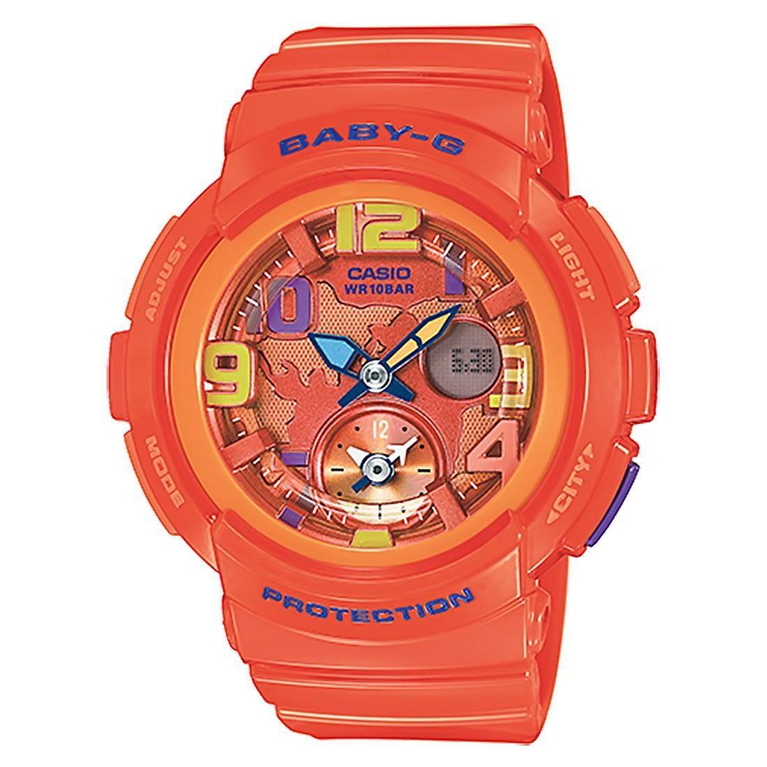 Casio Baby G Sports Watch Bga 190 4bdr Bga 190 4b Casio Baby G