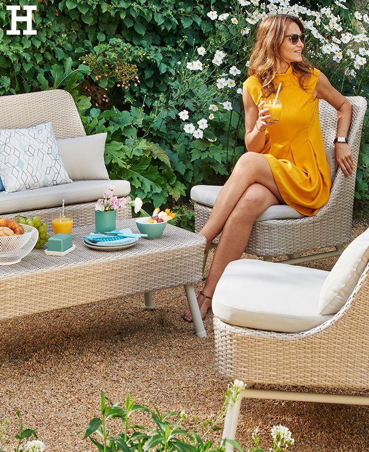 Schicke Loungemöbel zum Entspannen #garten #balkon #terrasse