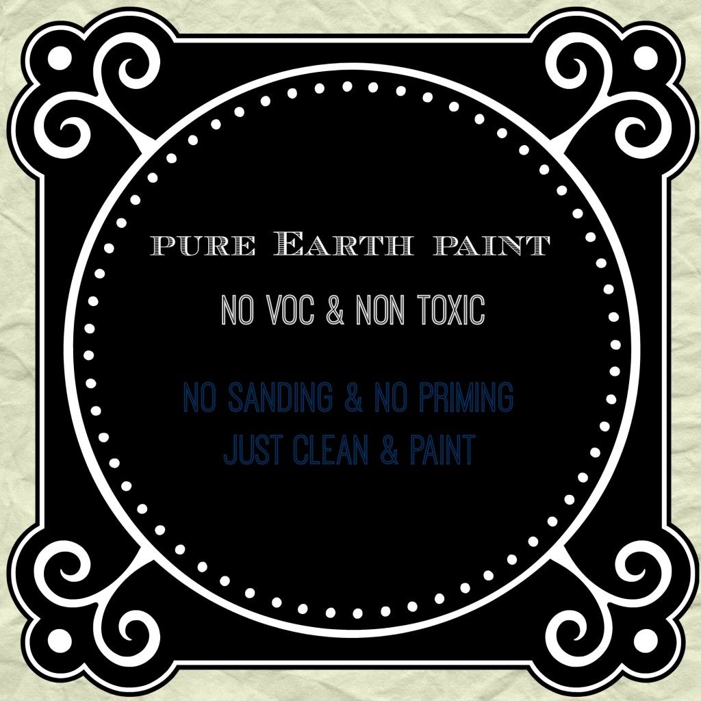 No Sanding U0026 No Priming Mineral Based Furniture Paint Non Toxic Paint