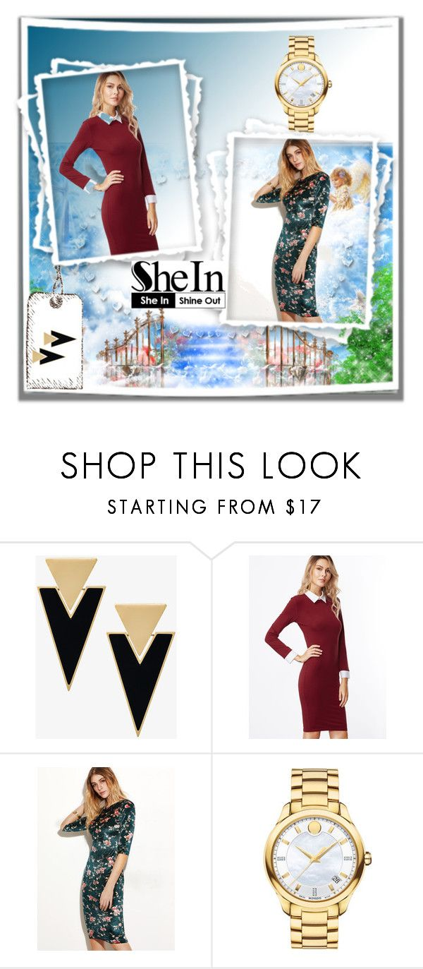 """Gorgeous"" by arjen00 ❤ liked on Polyvore featuring Yves Saint Laurent and Movado"