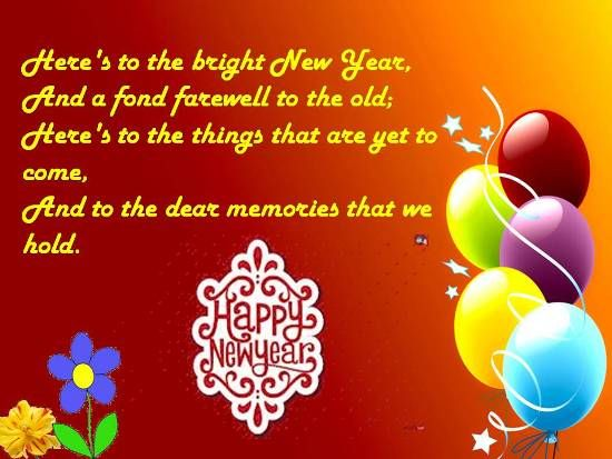 new year greetings google search