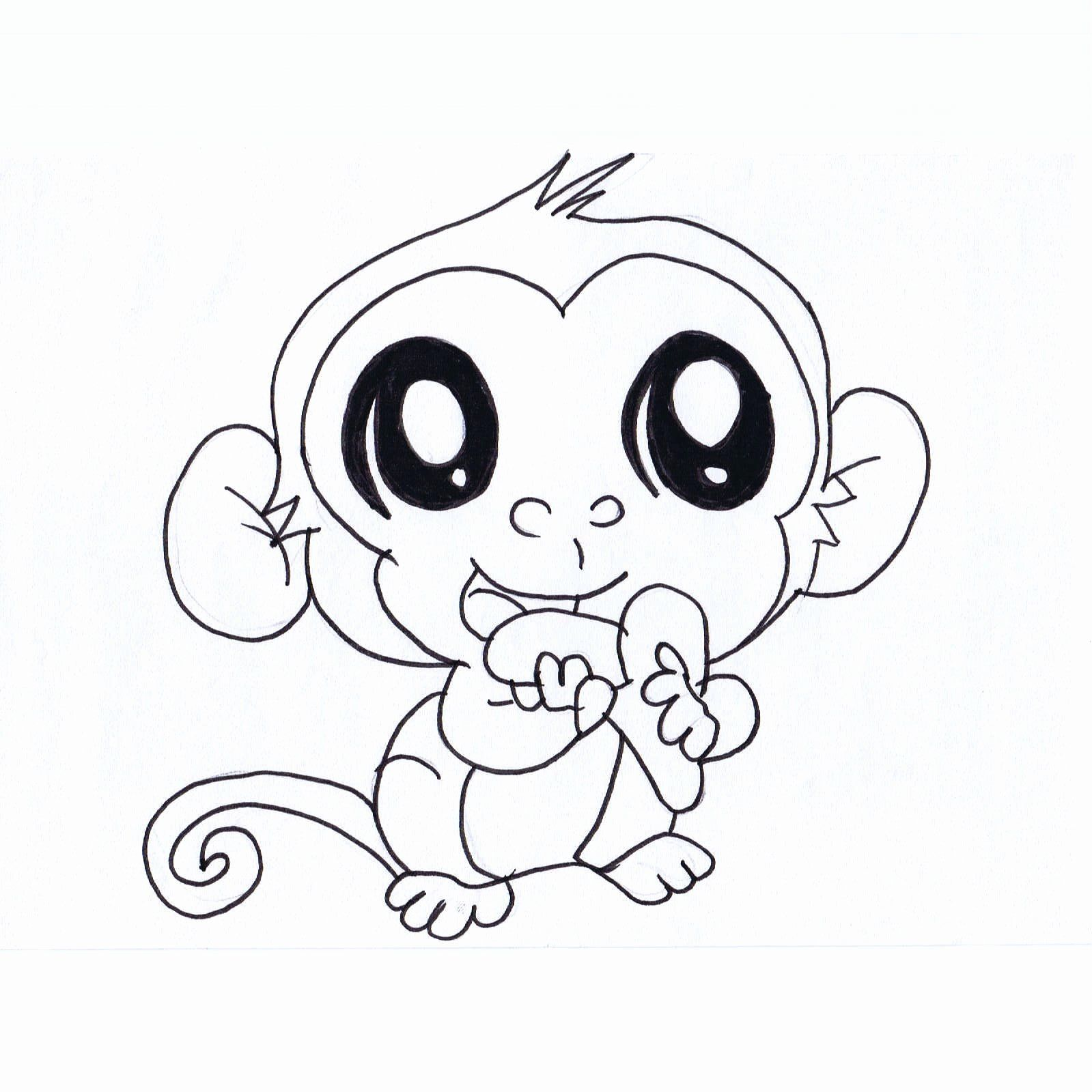 Cute Cartoon Animal Coloring Pages Awesome Cute Cartoon