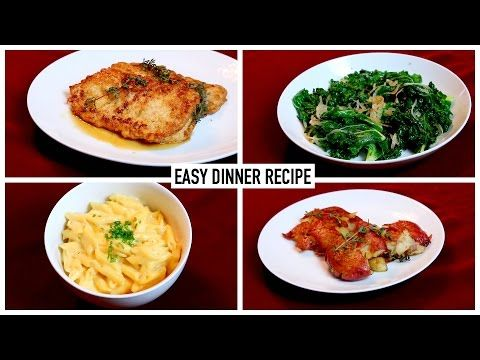 Easy dinner recipes youtube recipes to try pinterest food easy dinner recipes youtube forumfinder Choice Image