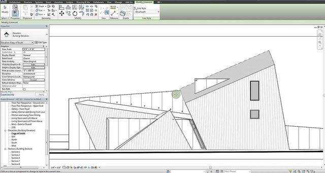Adding depth to Revit elevations