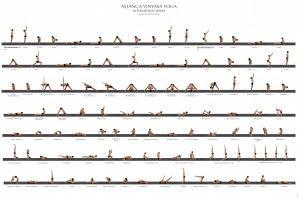 Vinyasa Yoga Pose Series