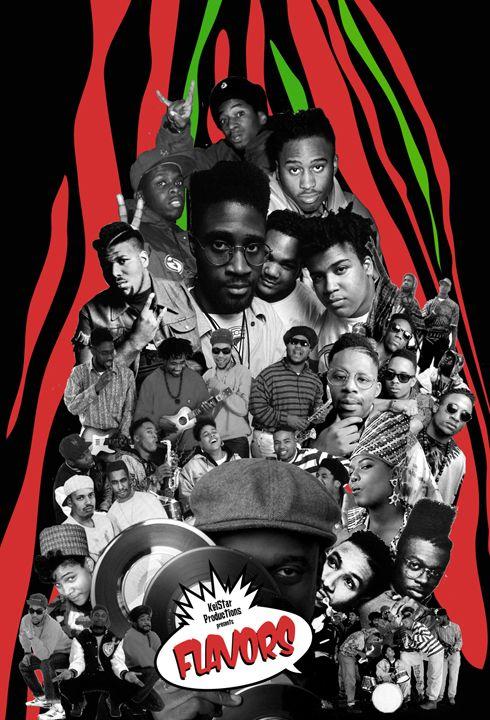 Hip-Hop: Golden Era collage