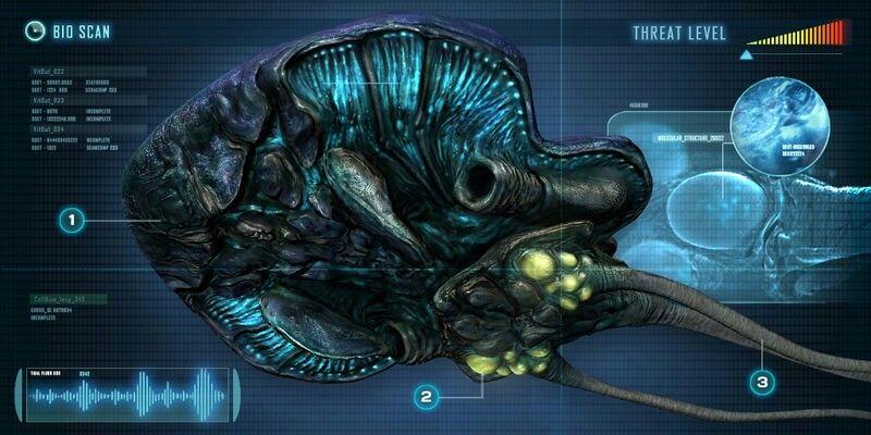 Subnautica Sea Dragon Concept Art