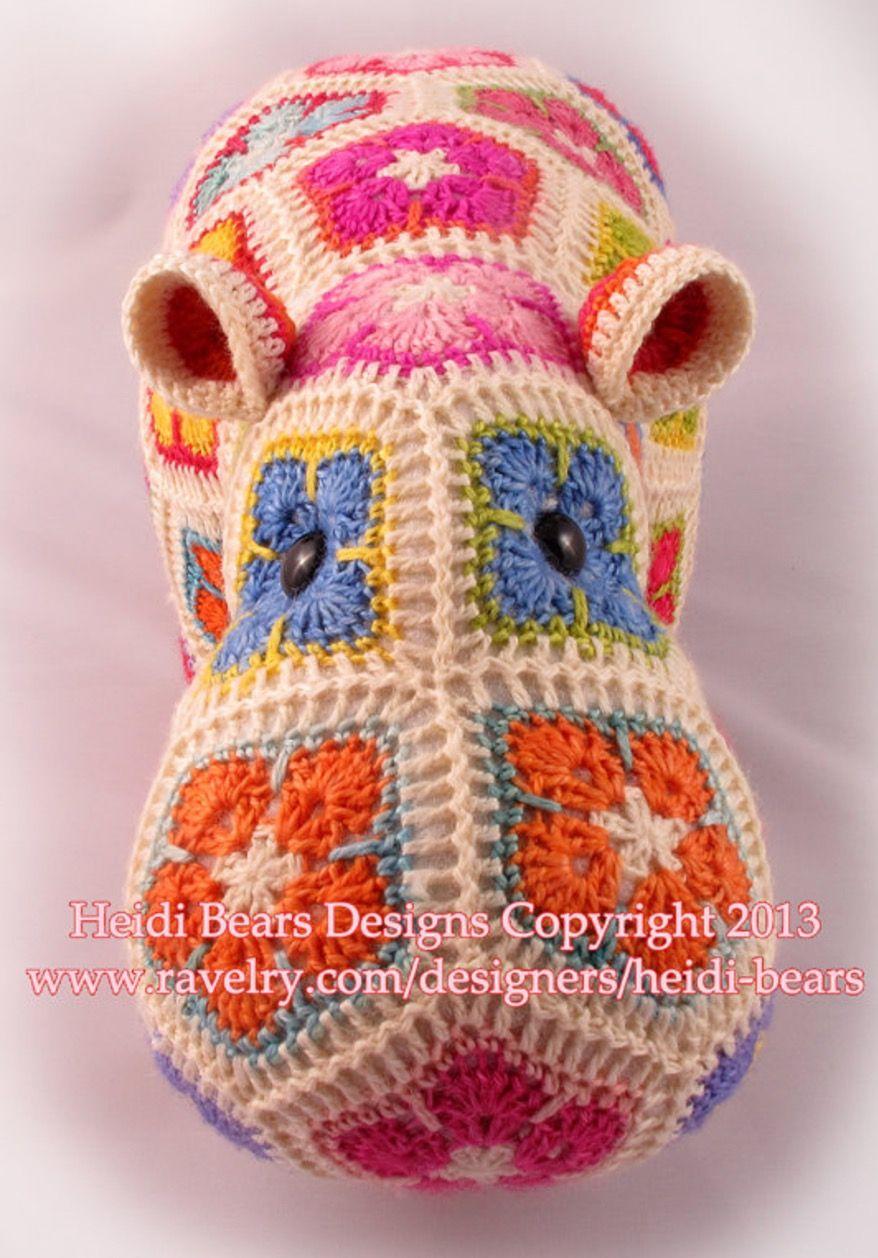 Crochet Hippo Pattern Custom Inspiration