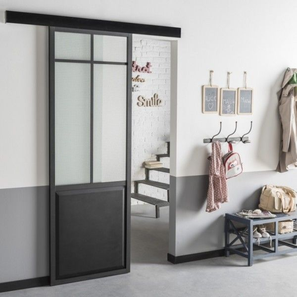 Où Trouver Une Porte Coulissante Atelier Style Verrière