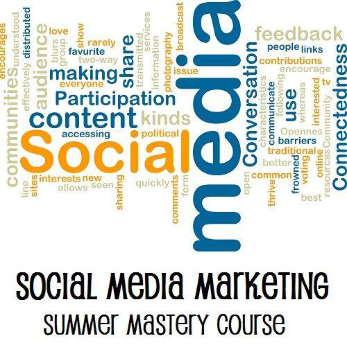 Social media Marketing - Summer Mastery Course   Business Inspiration