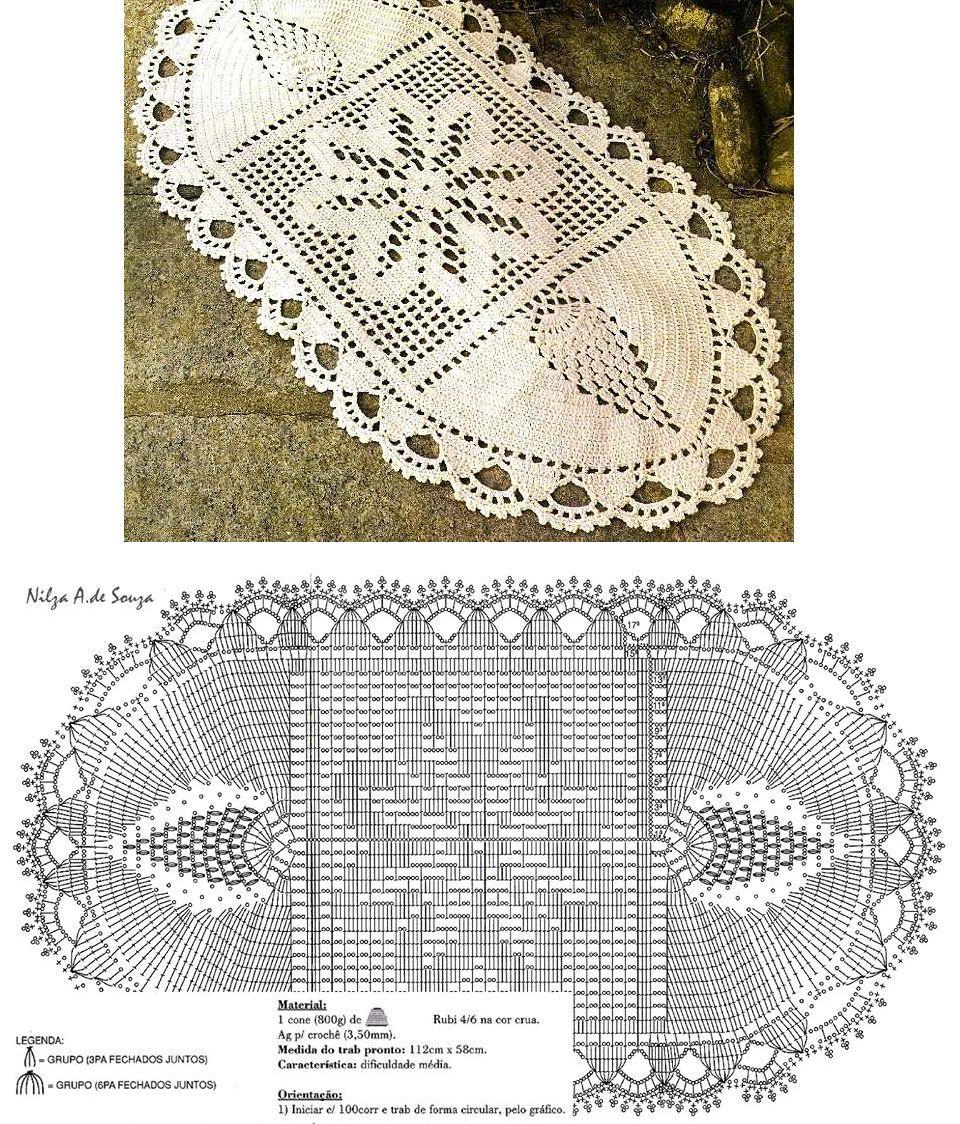 carpeta 7 | crochet, patrones gratis | Pinterest | Crochet and Doilies