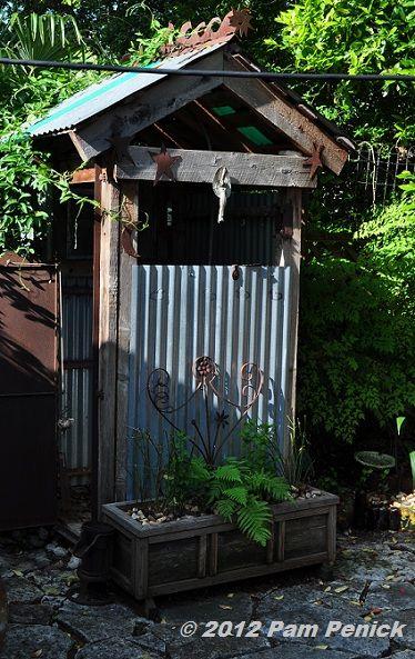 Outdoor Showers Digging Rustic Outdoor Kitchens Rustic Outdoor Outdoor Baths