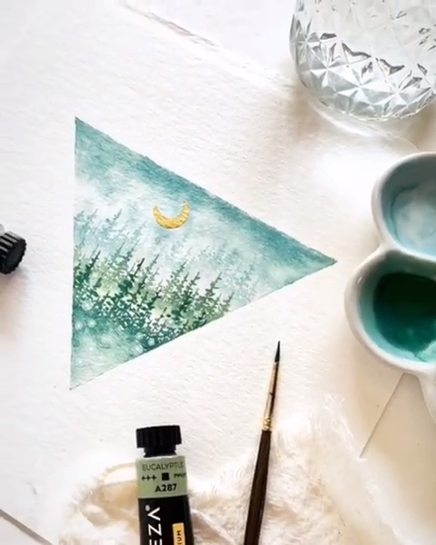 Find Your Creative Angle #easywatercolorpaintings