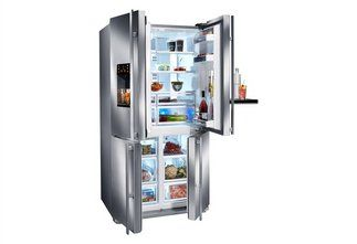 Grundig Kühlschrank Side By Side : Grundig side by side gqn cm hoch nofrost küchen
