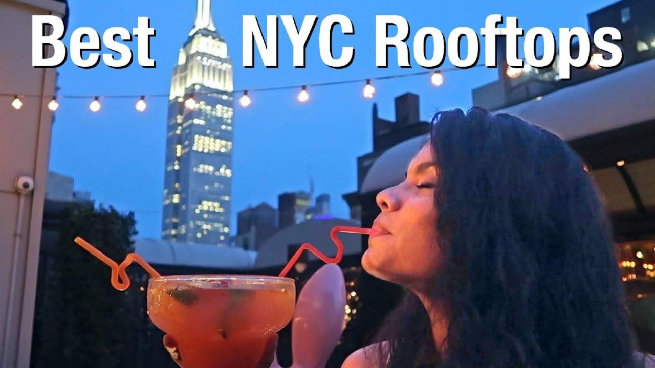 10 BEST Rooftop Bars in New York- NYC Nightlife Guide ...