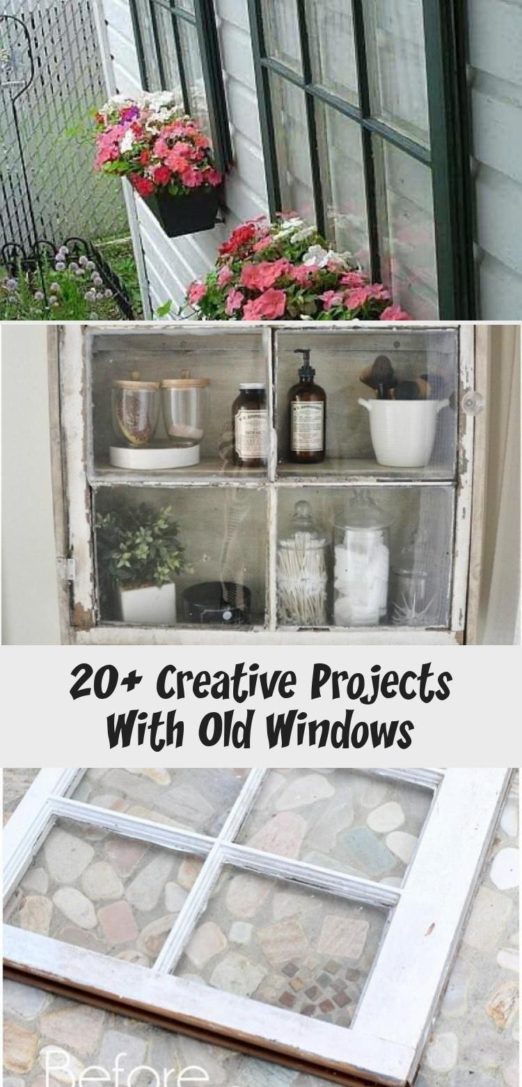 Creative Juice Pining For A Bungalow: 20+ Creative Projects With Old Windows