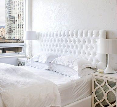 white hot bedroom.