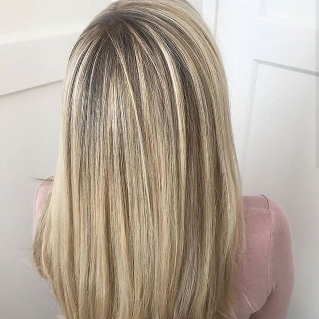 Highlights Lowlights Blonde Clean Hair Color Organic Hair Color