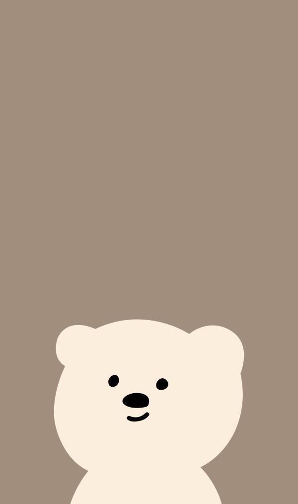 Cute Bear Wallpaper In 2021 Wallpaper Iphone Cute Bear Wallpaper Cute Cartoon Wallpapers