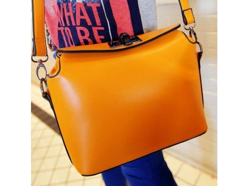 Cute Orange #Messenger #Bag