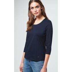 Photo of Cotton shirt in dark blue windsorwindsor