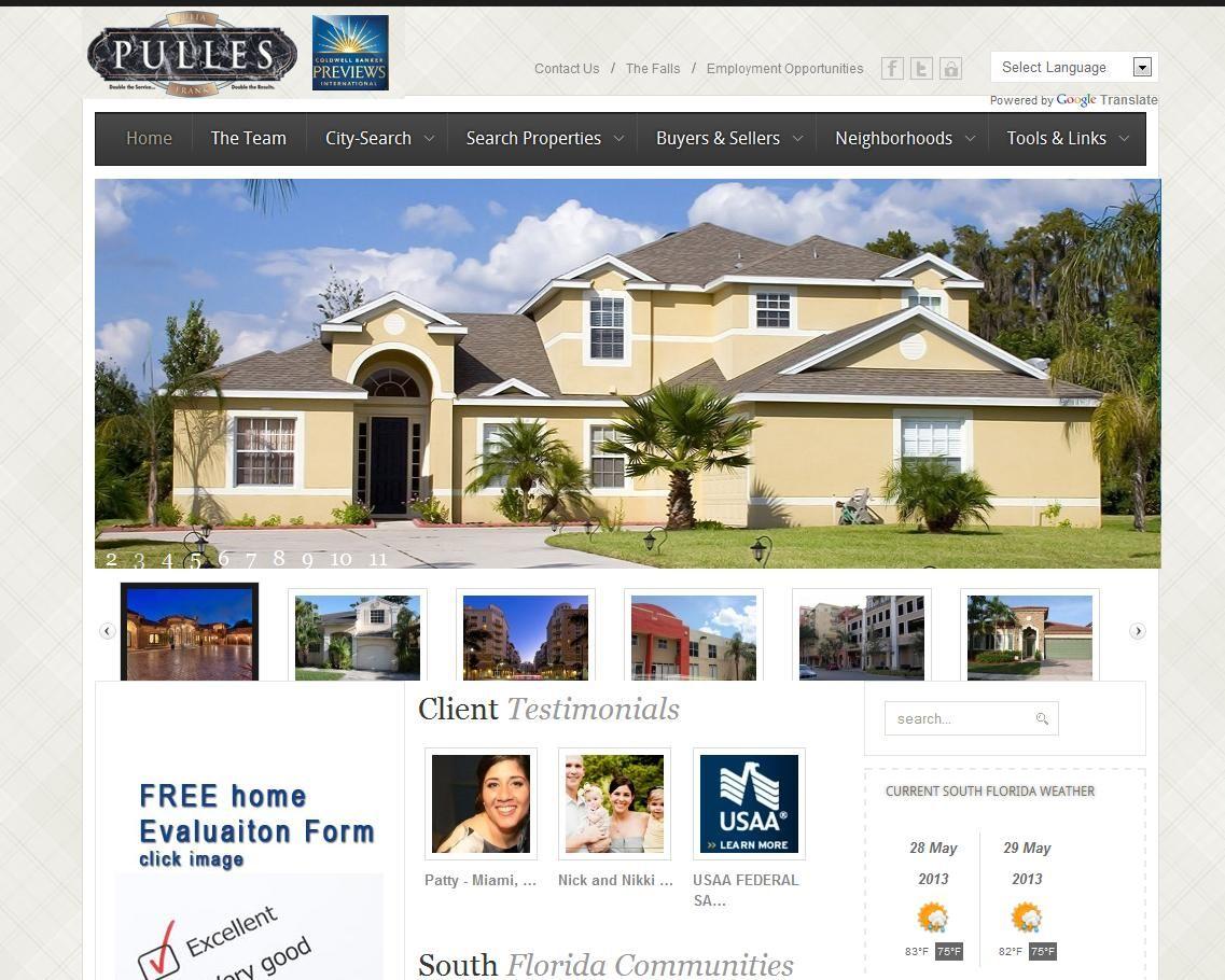 www.pulles.com South Florida Realtor