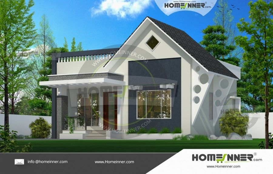 650 Sq Ft 2 Bedroom Good Single Story Home Exterior Free House Plans House Design House Exterior