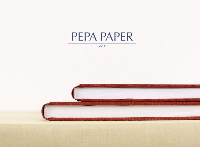 Pepa Paper Re-Branding por The Visual Corner