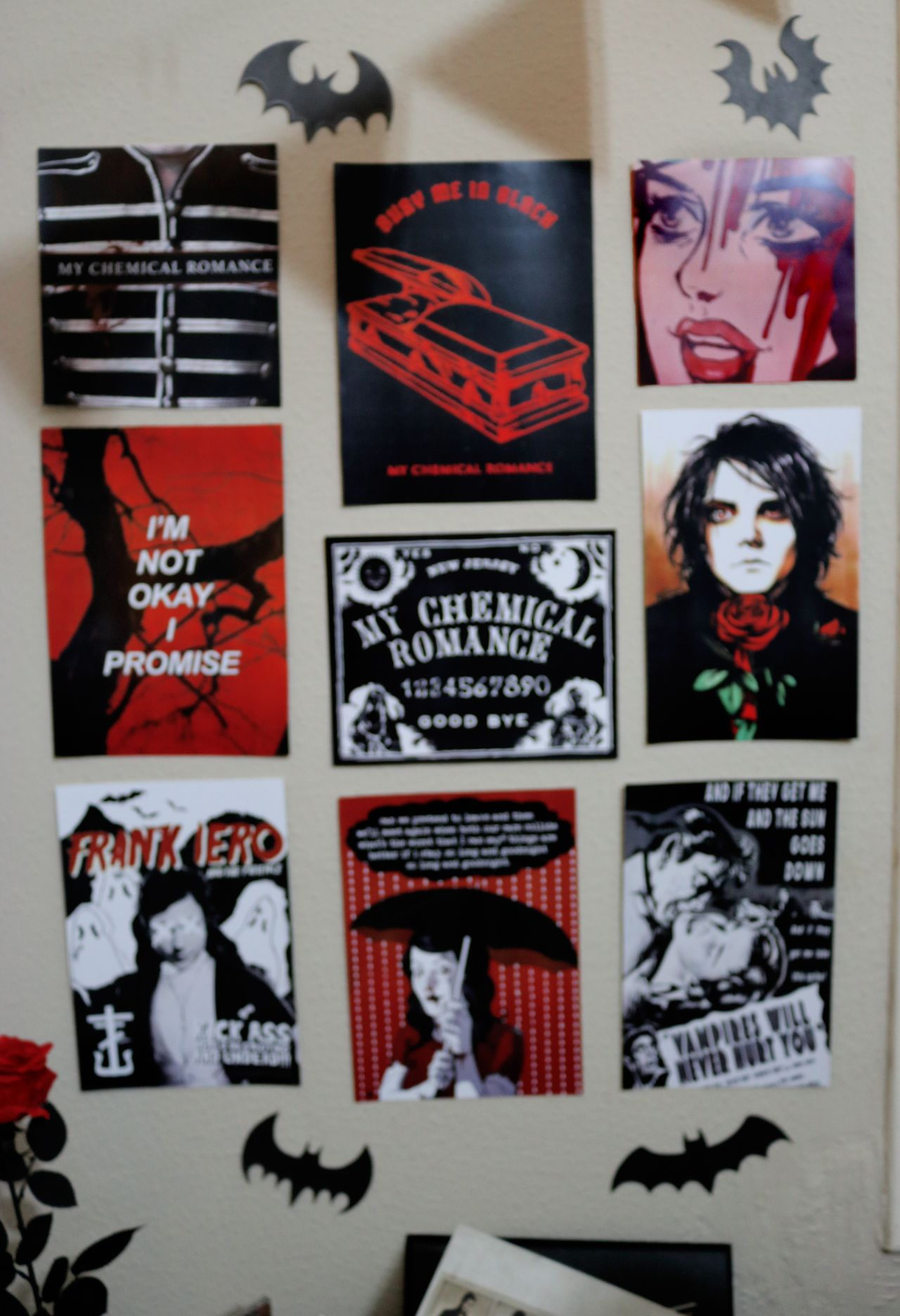 My Chemical Romance Theme Party Posters In 2020 My Chemical